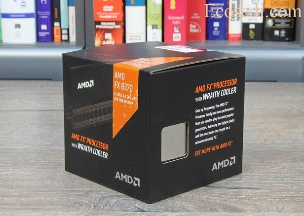 AMD FX-8370 with cooler Wraith
